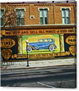 Pueblo Downtown--used Cars Canvas Print