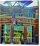 Pueblo Municipal Justice Center Canvas Print
