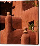 Pueblo Revival Style Architecture II Canvas Print