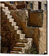 Pueblo Stairway Canvas Print