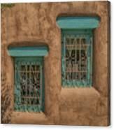 Pueblo Windows Nm Square Img_8336 Canvas Print