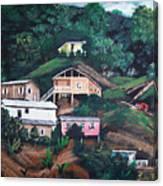 Puerto Rico Mountain View Canvas Print