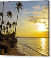 Puerto Rico Sunset Canvas Print