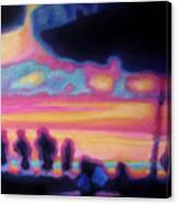 Puerto Vallarta Umbrella Canvas Print