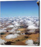 Puffy Clouds  3772 Canvas Print