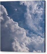 Puffy Clouds Canvas Print