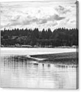 Puget Sound Reflections Canvas Print