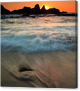 Pulled By The Tides Canvas Print