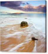 Pulled To The Sea Canvas Print