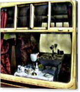 Pullman Dining Car Canvas Print