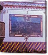 Pulpit San Xavier Mission - Tucson Arizona Canvas Print