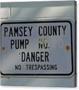 Pump Station No. 00 Canvas Print