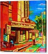 Pumperniks And The Snowdon Theatre Canvas Print