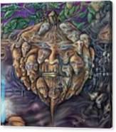 Pumpkin Morph Cycle Canvas Print