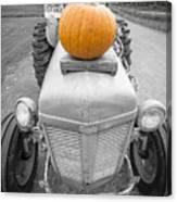 Pumpkins For Sale Vermont Canvas Print