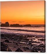 Punakiaki Sunset Canvas Print