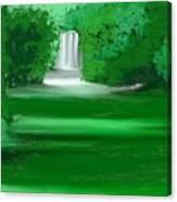 Punch Bowl Falls Canvas Print