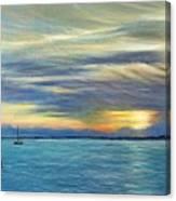 Punta Gorda Florida Art Canvas Print