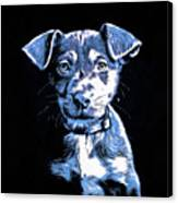 Puppy Dog Graphic Novel Drawing Canvas Print