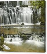 Purakanui Falls Canvas Print
