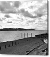 Purdy Beach Canvas Print