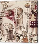 Purepecha People Canvas Print