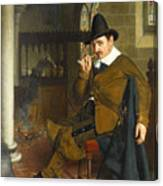 Puritan Barracks Canvas Print