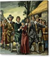 Puritans Canvas Print