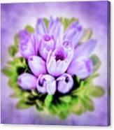 Purple Bouquet Canvas Print