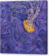 Purple Calm Canvas Print
