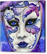 Purple Carnival Canvas Print