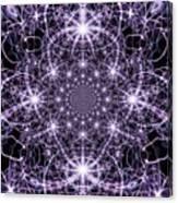 Purple Celeste  Canvas Print