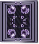 Purple Dimensions Canvas Print