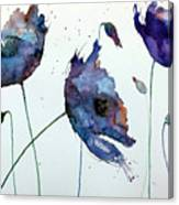 Purple Explosion Canvas Print