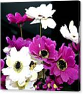Purple Flowerspurple Flowers Canvas Print
