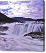 Purple Haze Waterfall Canvas Print