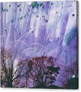Purple Is The Color Of My True Love's Air Canvas Print