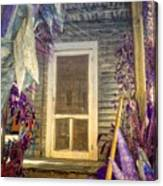 Purple Key West Canvas Print