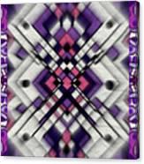 Purple Maze Canvas Print