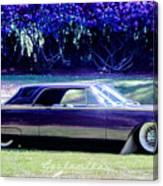 Purple Overtones Canvas Print