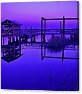 Purple Perspectives Canvas Print