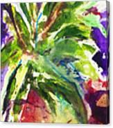 Purple Pineapple Canvas Print