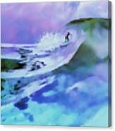 Purple Pit Canvas Print