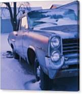 Purple Pontiac Canvas Print