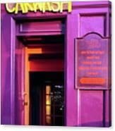 Purple Pub Canvas Print