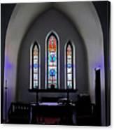 Purple Pulpit Canvas Print