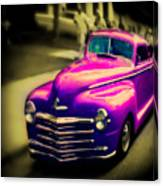 Purple Ride Canvas Print