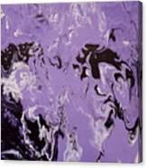 Purple Series No. 3 Canvas Print