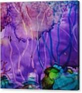 Purple Silence Canvas Print