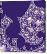 Purple Silk Canvas Print